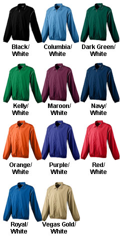 Youth Micro Poly Full-Zip Jacket - All Colors