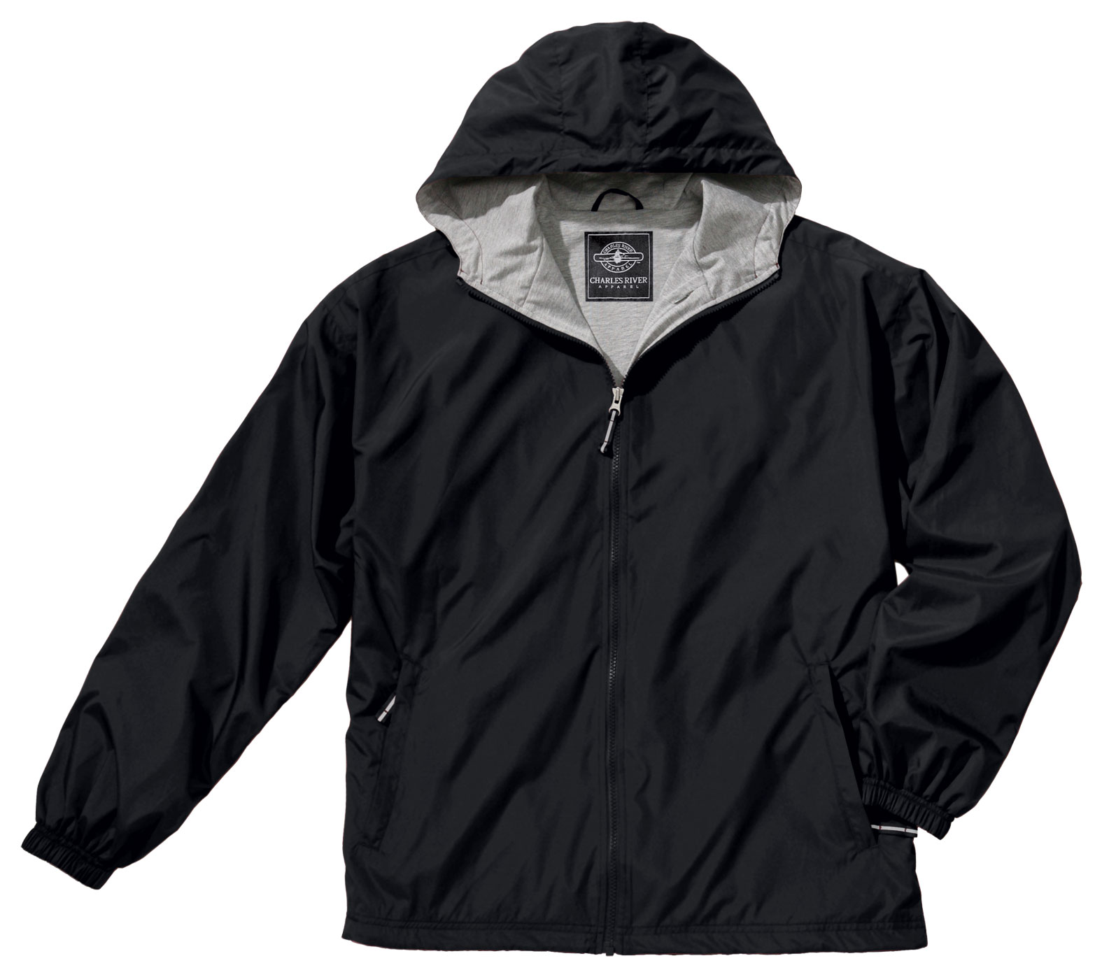 Youth Full Zip Front Portsmouth Jacket by Charles River Apparel