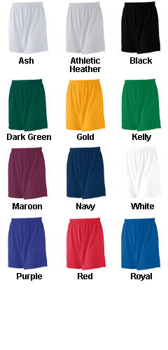 Youth Jersey Knit Custom Logo Short - All Colors