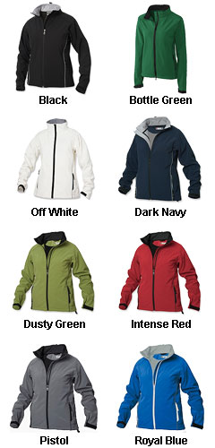 Ladies SOFTSHELL LADY Jacket by Clique - All Colors
