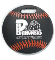 Custom Baseball Round Ball Stadium Seat Cushions For Bleachers