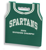 Basketball Jersey Stadium Seat Cushions For Bleachers