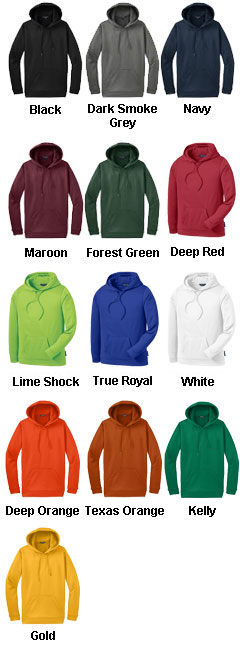 Sport-Tek® - Sport-Wick® Fleece Hooded Pullover - All Colors
