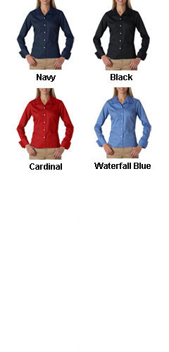 UltraClub Ladies Stain Resistant Whisper Elite Twill Shirt - All Colors