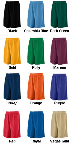 Youth Long Mesh Short - All Colors