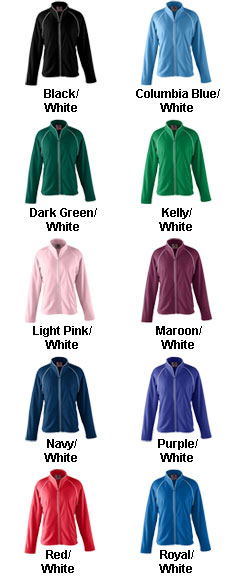 Ladies Brushed Tricot Jacket - All Colors