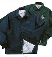 Custom Oxford Coaches Quilted Lined Sports Jacket Mens