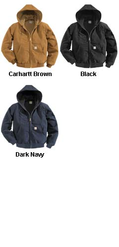 Carhartt Duck Active Jacket Water Repellent w/Thermal Lined - All Colors