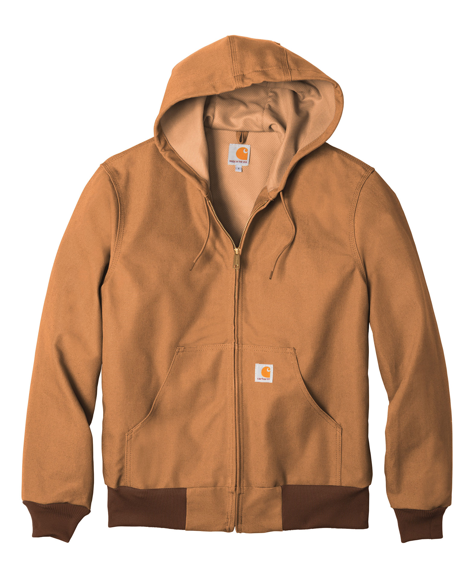 Carhartt Mens Thermal-Lined Duck Active Jacket