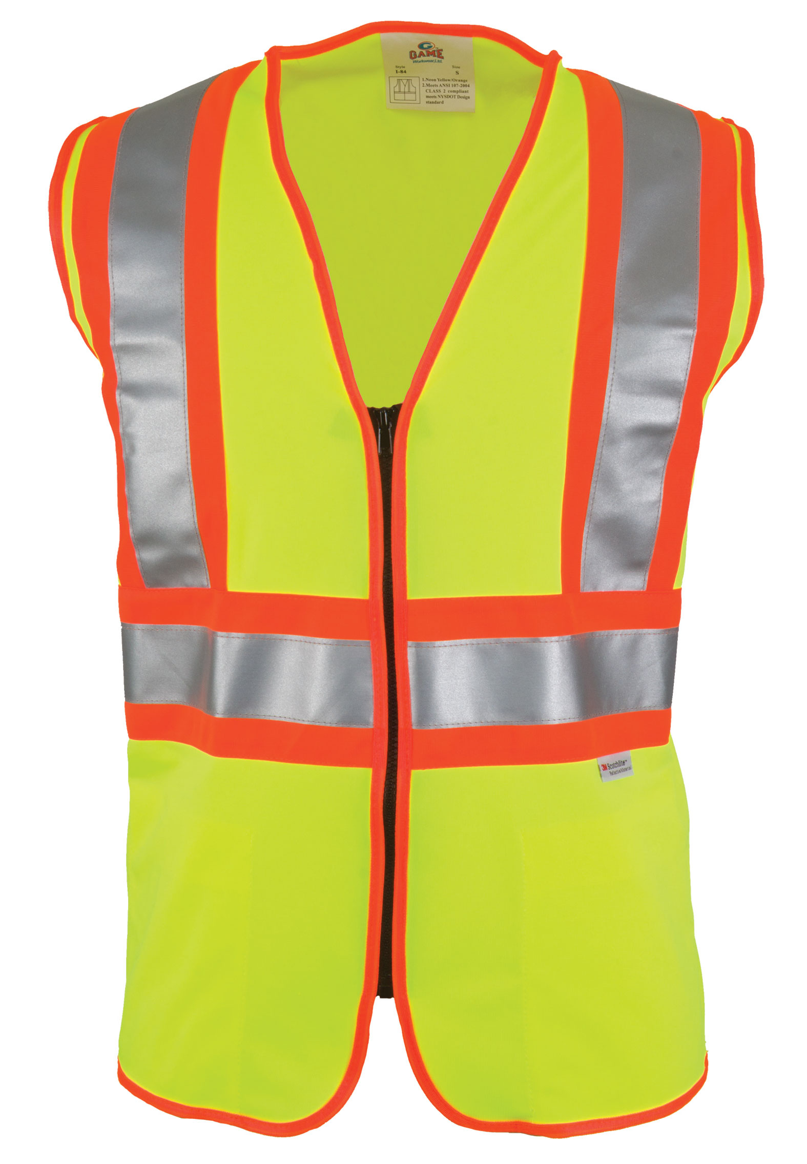 The D.O.T. ANSI/ISEA Compliant Vest