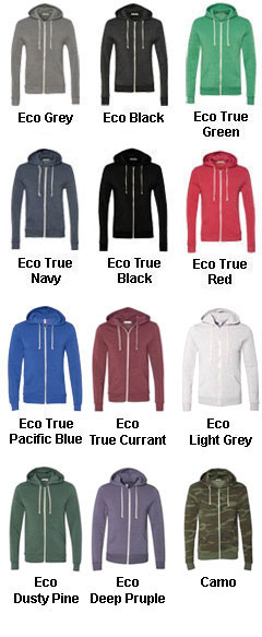 The Rocky Alternative Long-Sleeve Zip Hoodie - All Colors