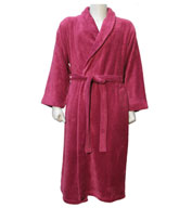 Custom Apollo Unisex Plush Spa Robe