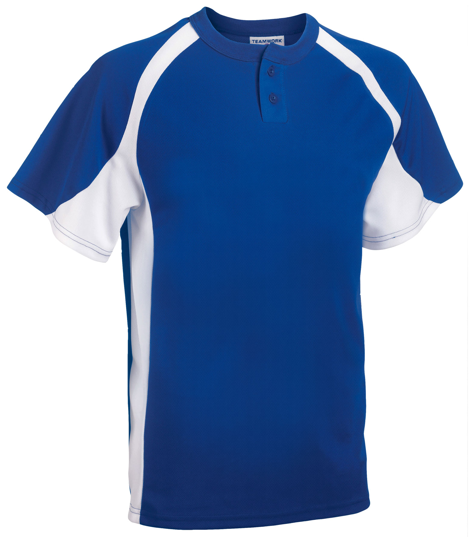 Teamwork Adult Line Drive 2-Button Baseball Jersey - CLOSEOUT