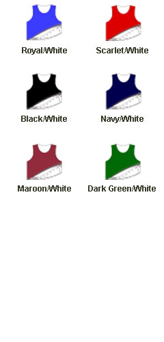 Adult Zone Sleeveless Reversible Lacrosse Jersey  - All Colors