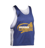 Custom Youth Midfielder Sleeveless Reversible Lacrosse Jersey