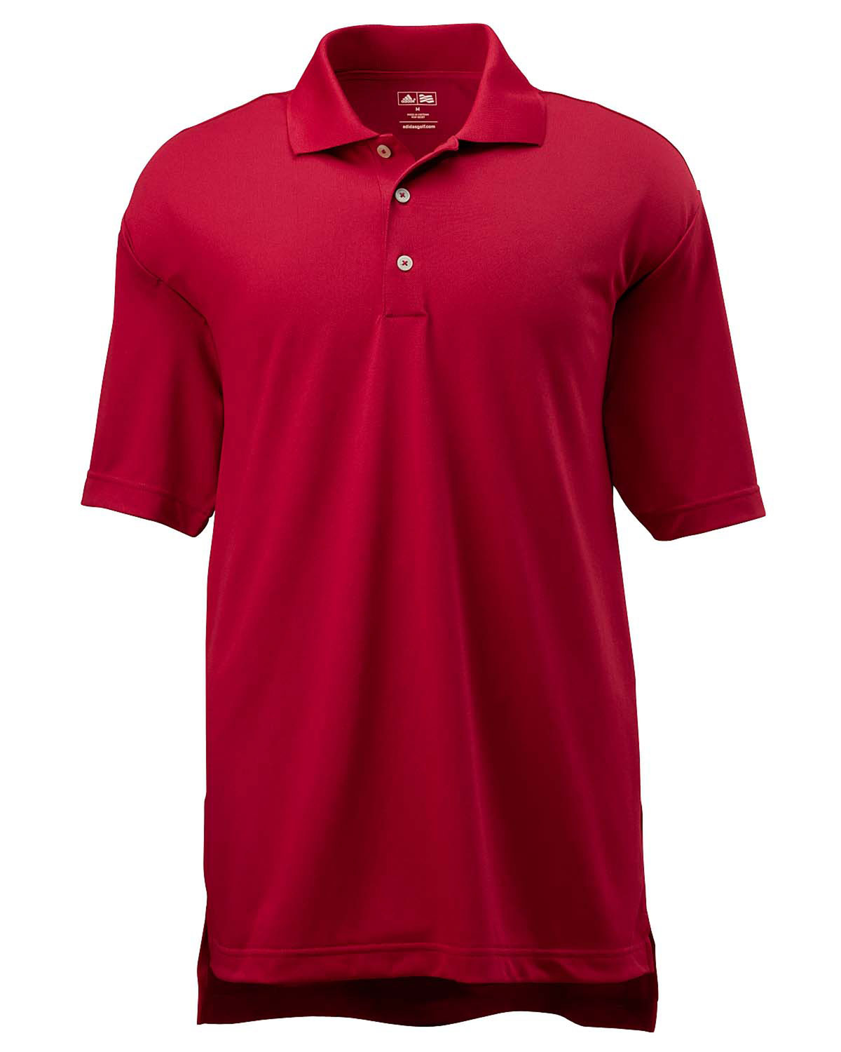 Adidas Golf Mens ClimaLite® Short-Sleeve Piqué Polo