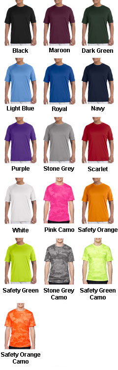 Champion Mens Wicking Tee - All Colors