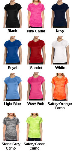 Champion Ladies Wicking V-Neck Tee - All Colors
