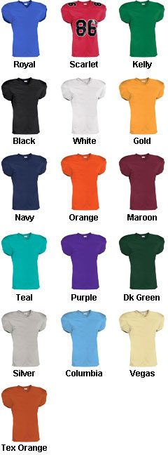 Adult Touchdown Steelmesh Football Jersey - All Colors
