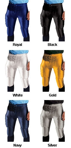 Adult Strongarm Slotted Waist Lycra Football Pant - All Colors
