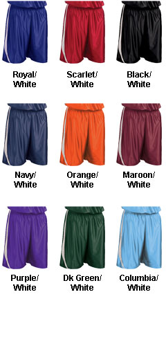 Adult Downtown Basketball Short - All Colors