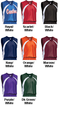 Youth Tip Off Basketball Jersey - All Colors