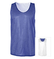 Custom Badger Mens Mesh Reversible Tank