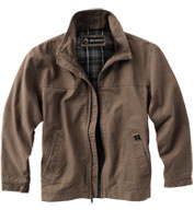 Custom Dri Duck Adult Maverick Quarry-Washed Canvas Jacket