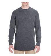 Custom UltraClub Mens Mini Thermal Crewneck