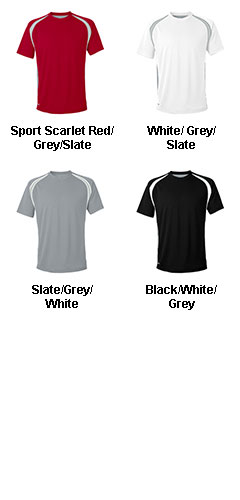 All Sport™ Mens Short Sleeve Colorblock T-shirt - All Colors