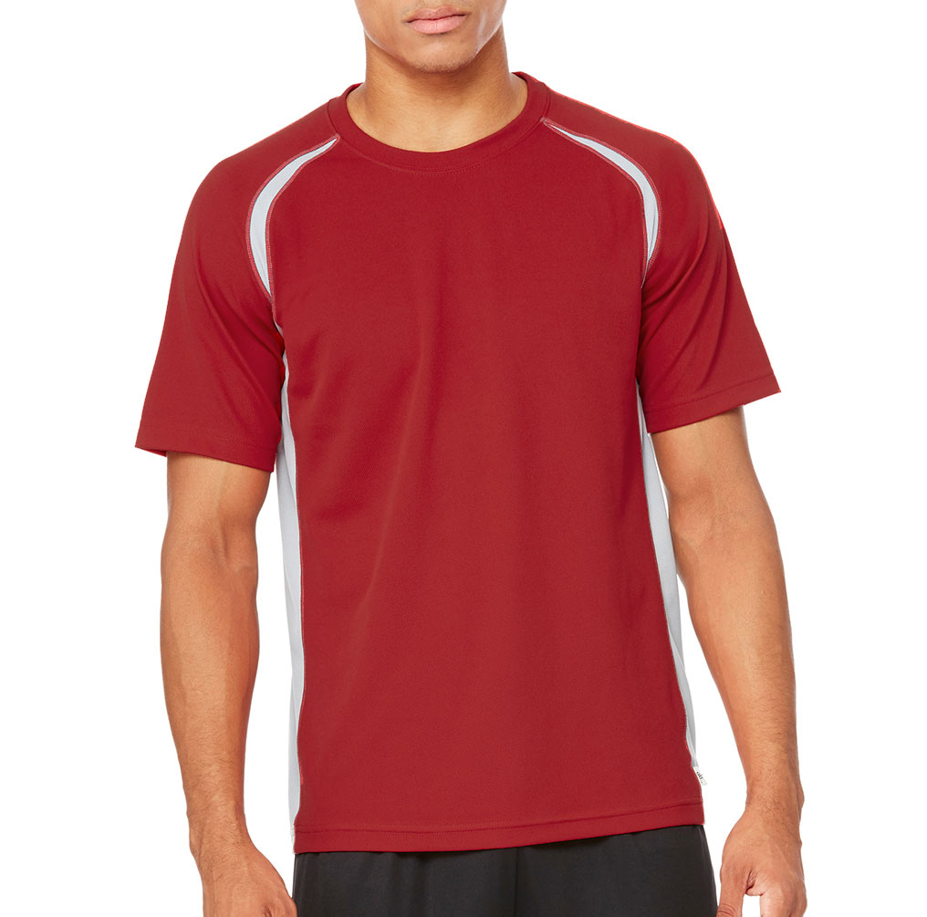 All Sport™ Unisex Short Sleeve Colorblock T-shirt