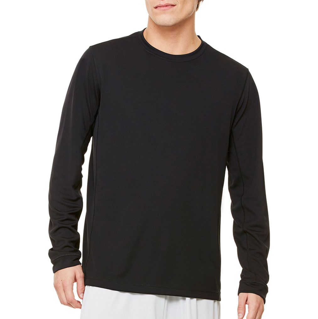 All Sport™ Mens Long Sleeve Colorblock T-shirt