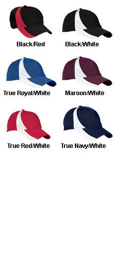 Youth Dry Zone™ Nylon Colorblock Cap - All Colors