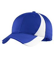 Custom Sport-Tek® Youth Dry Zone™ Nylon Colorblock Cap