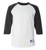 Custom Champion Mens 100% Cotton Raglan Sleeve