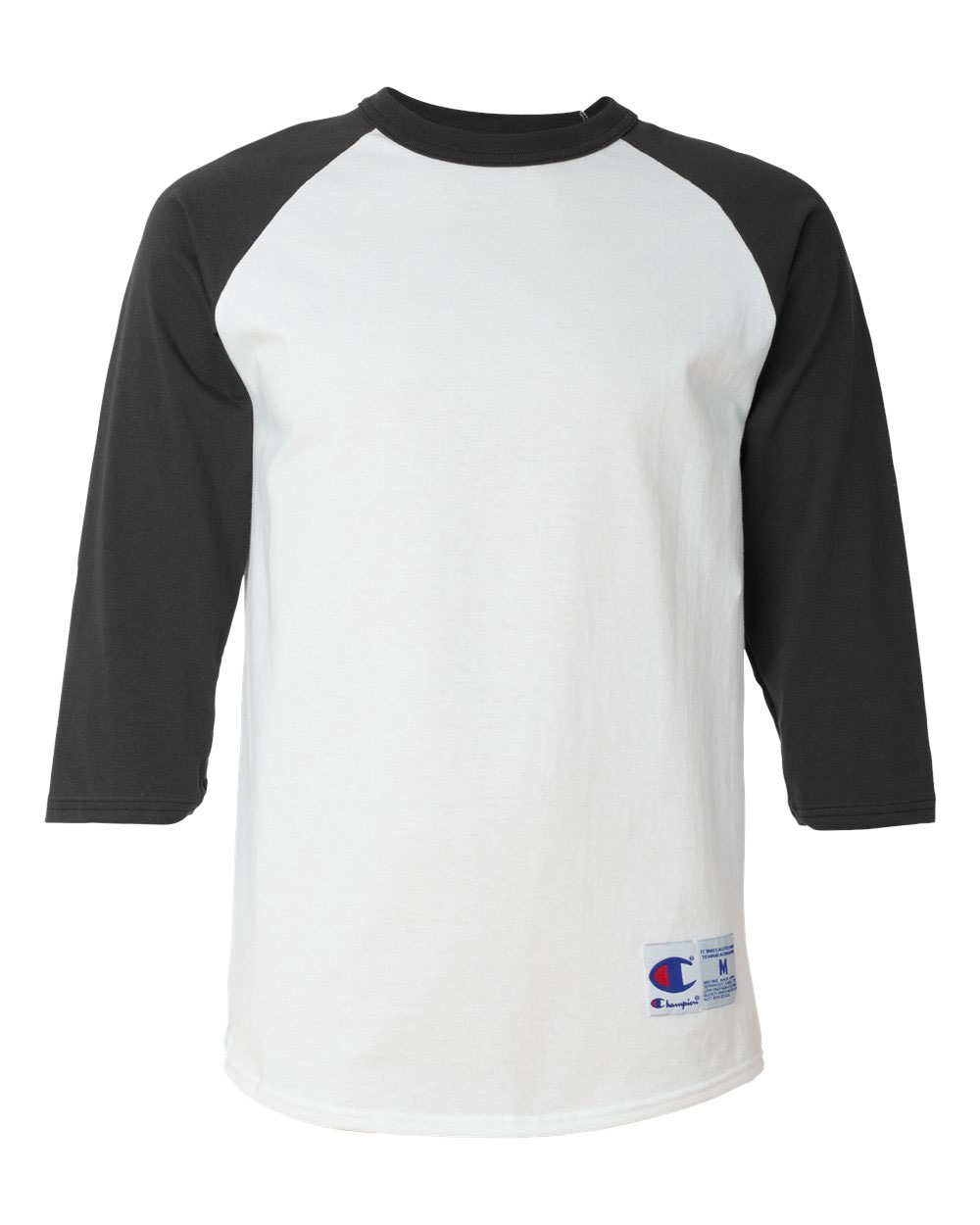 Champion Mens 100% Cotton Raglan Sleeve