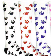 Custom Youth PAWS All Sport Socks