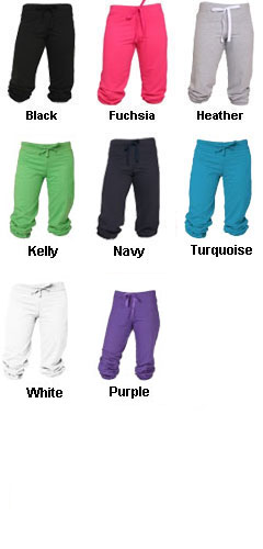 Youth Touchdown Sweat Capris - All Colors