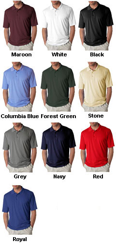 UltraClub Adult Cool-N-Dry™ Sport Polo - All Colors
