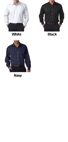 Mens Stain Resistant Whisper Elite Twill Shirt - Embroidered - All Colors