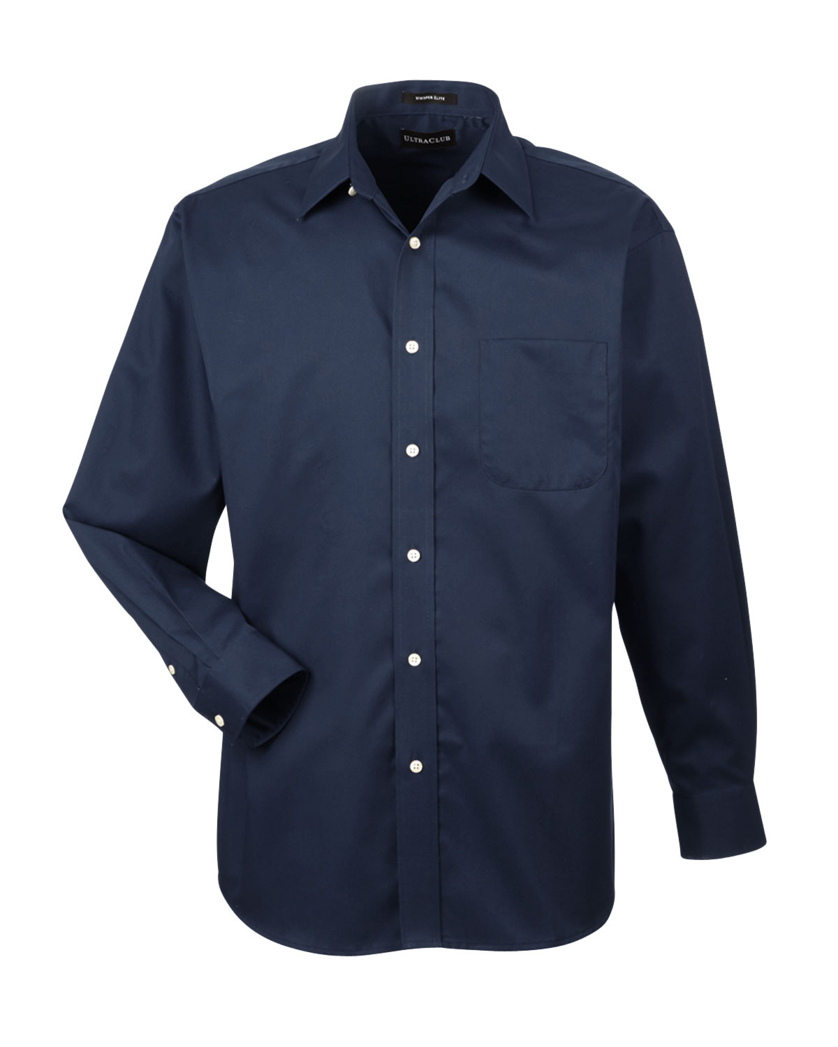 Mens Stain Resistant Whisper Elite Twill Shirt - Embroidered