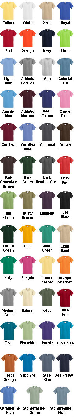 Big and Tall Essential Tshirt - All Colors