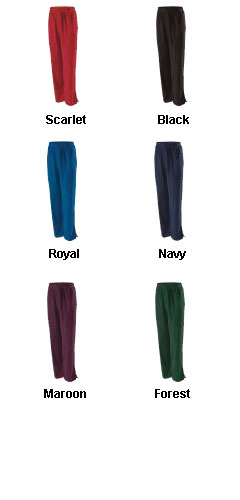 Adult Evasion Microfleece Warm-up Pants by Holloway - All Colors