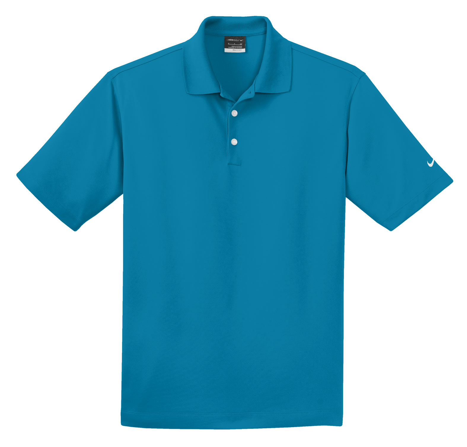 NIKE Golf Mens Dri-FIT Micro Pique Sport Polo Shirt