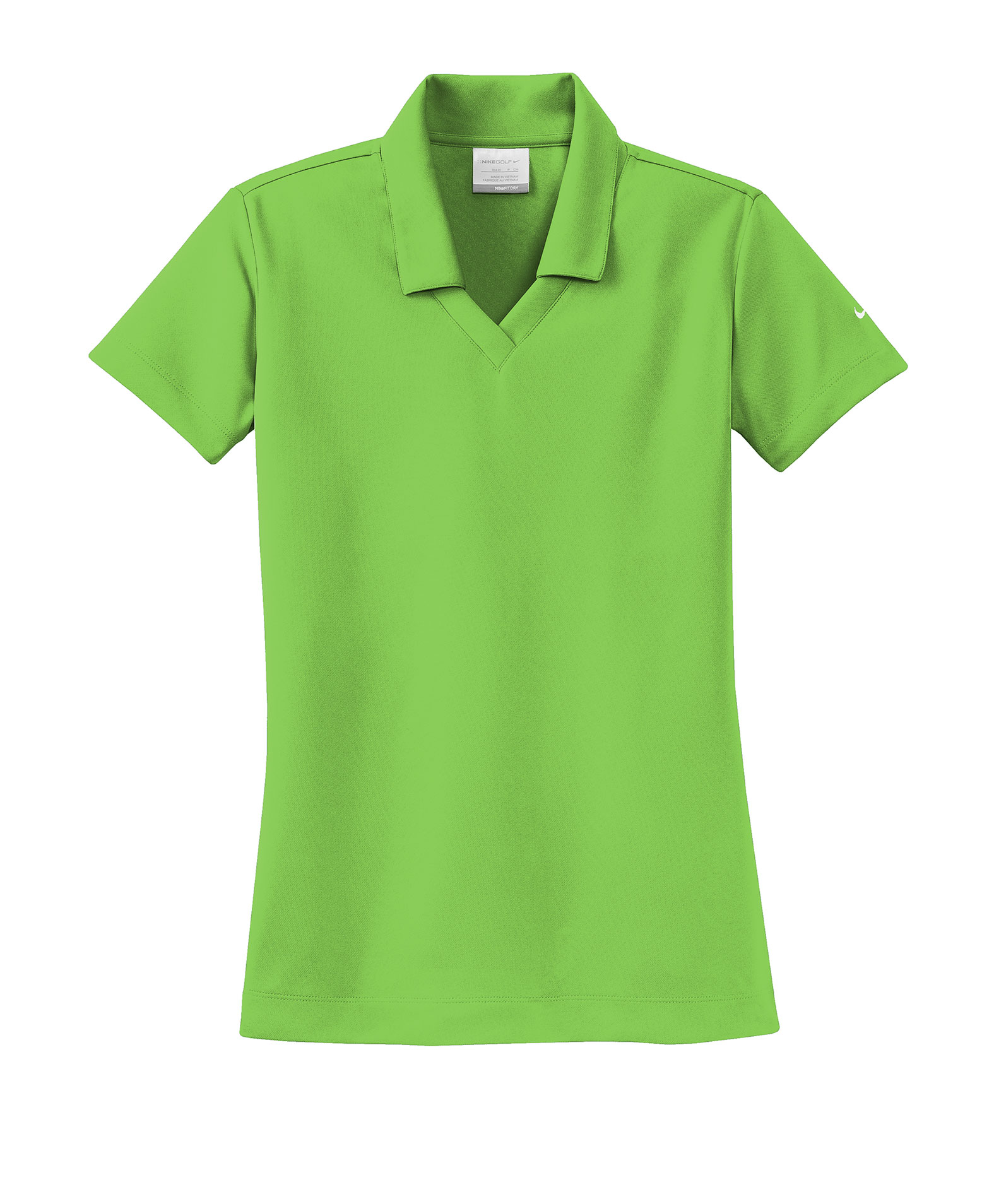 Custom Nike Golf Ladies Dri Fit Micro Pique Sport Shirt