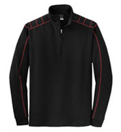 Custom NIKE Golf Mens Dri-FIT 1/2-Zip Cover-Up