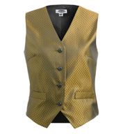 Custom Womens Diamond Brocade Vest