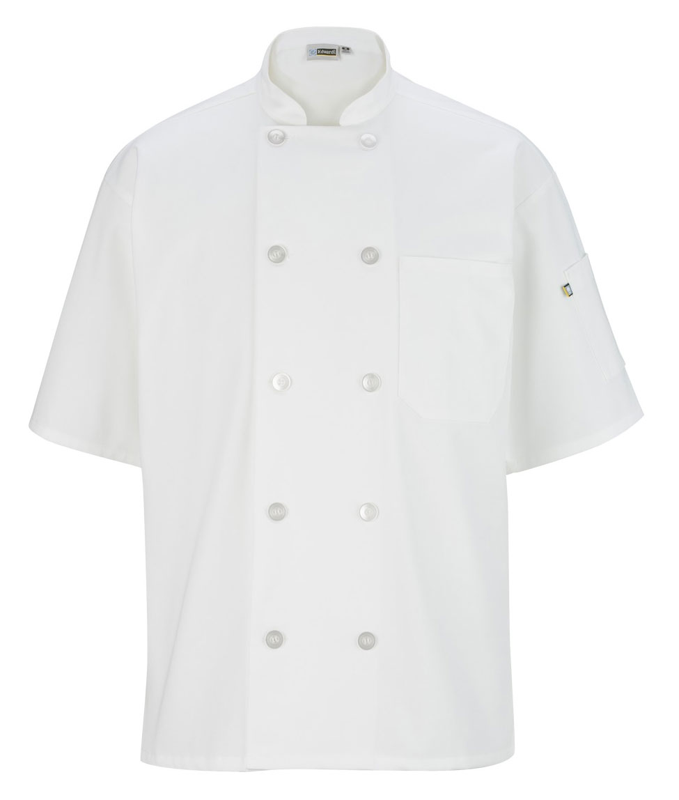 Best Selling Professional 10 Button Short Sleeve Chef Coat