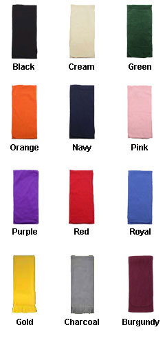 Anti-Pilling Fleece Scarf - All Colors