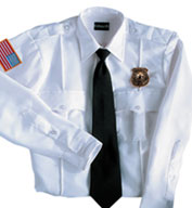 Custom 100% Polyester Security Long Sleeve Shirt